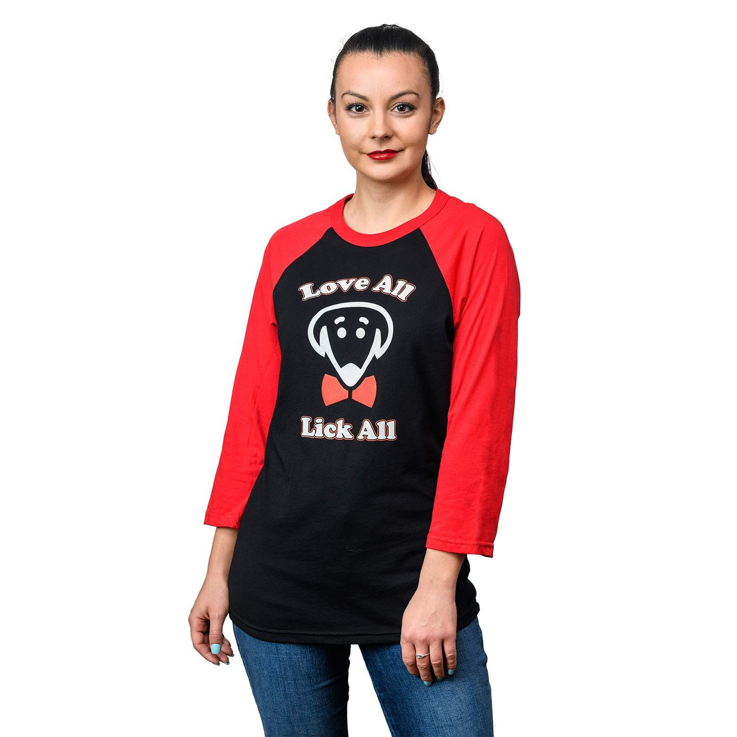 Love All Lick All shirt in black