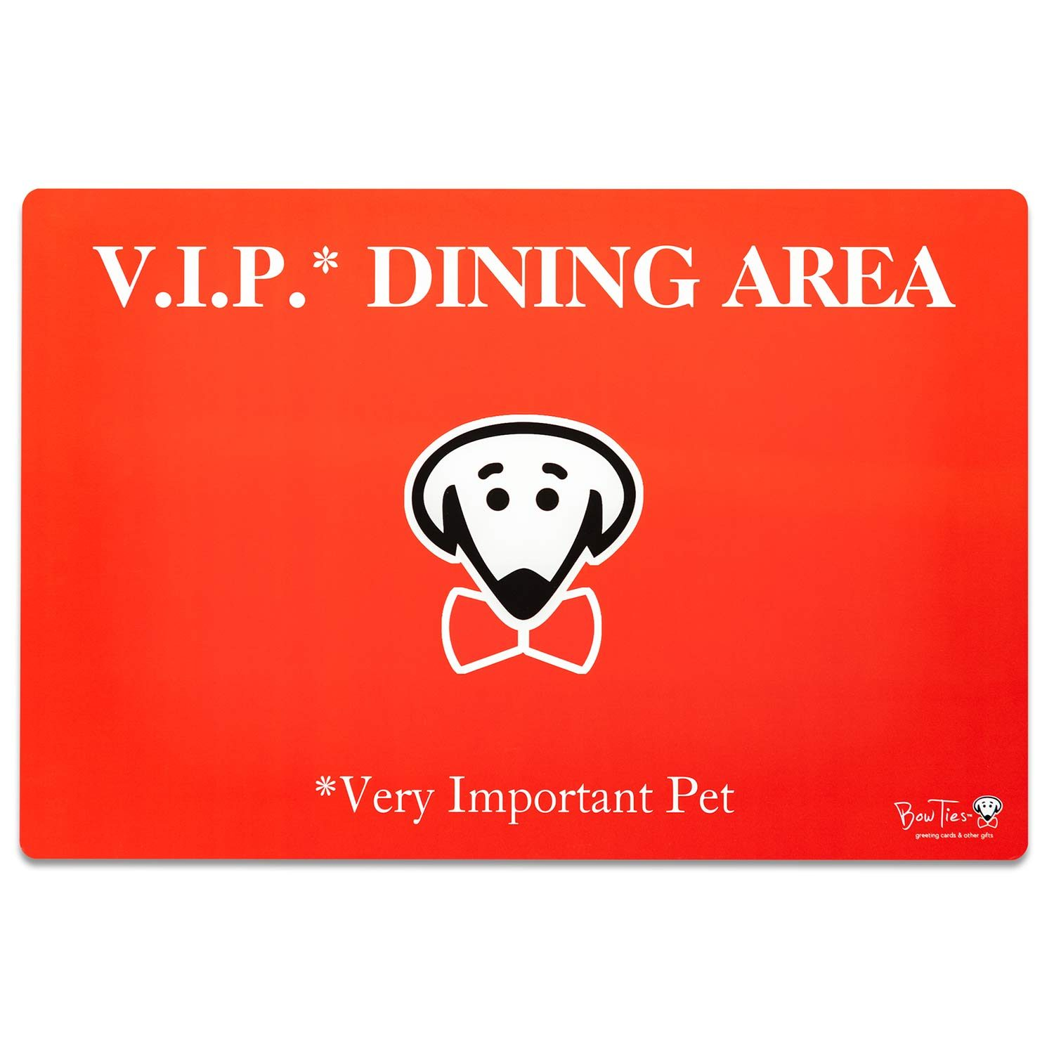 V.I.P. Dining Area pet mat by Beau Tyler