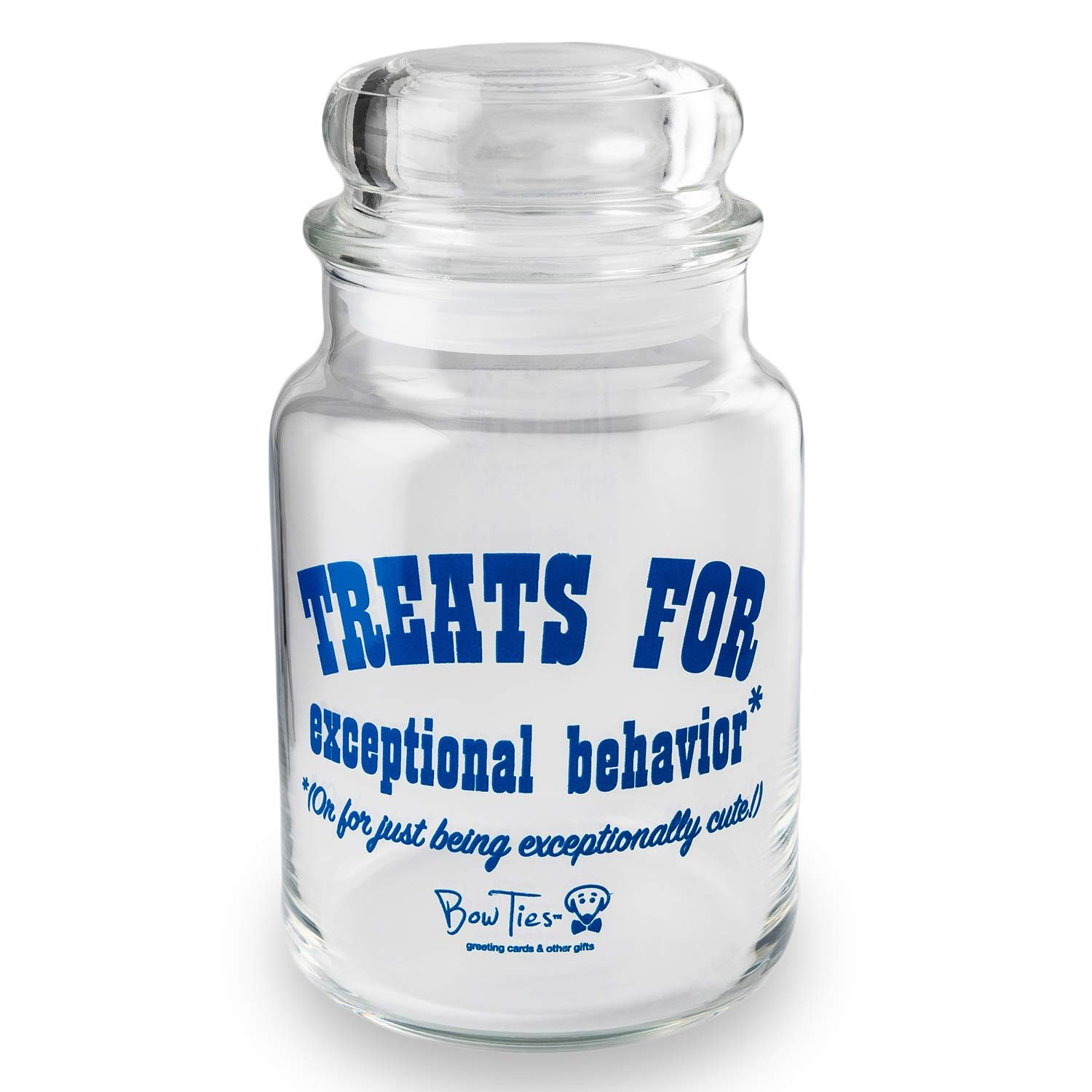 Treats For Exceptional Behavior pet treat jar by Beau Tyler