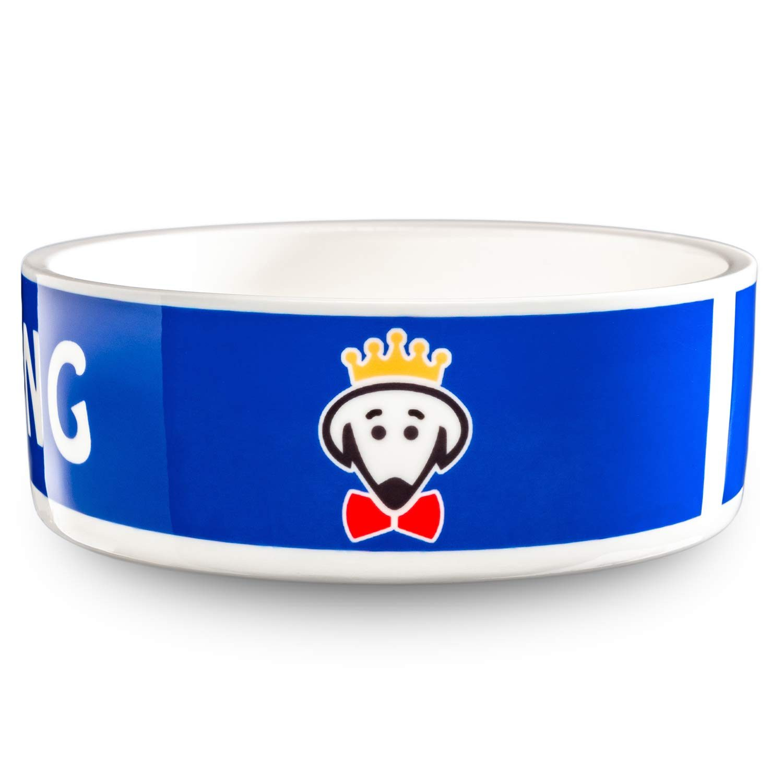 Royal Pet Bowl (King) in royal blue by Beau Tyler