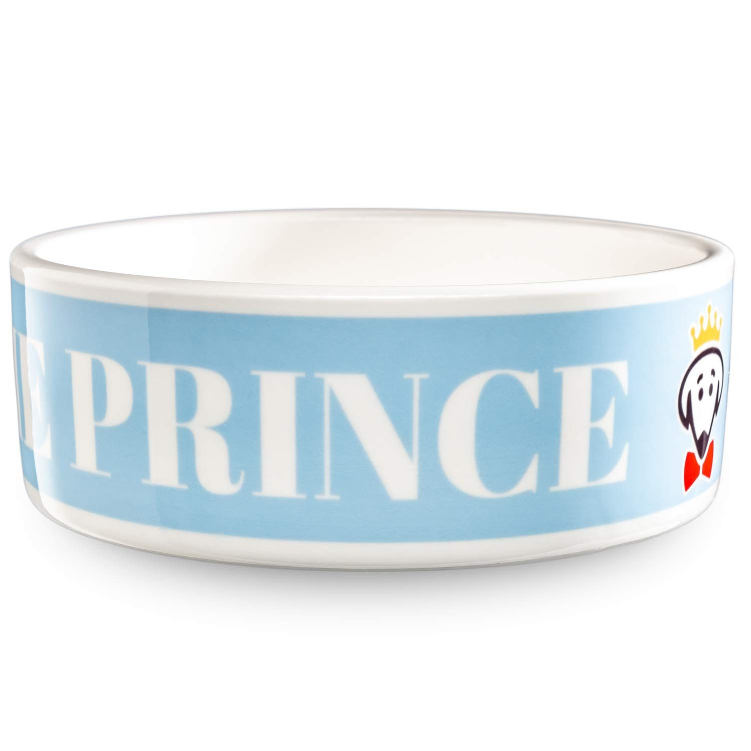 Royal Pet Bowl (Prince) in baby blue by Beau Tyler