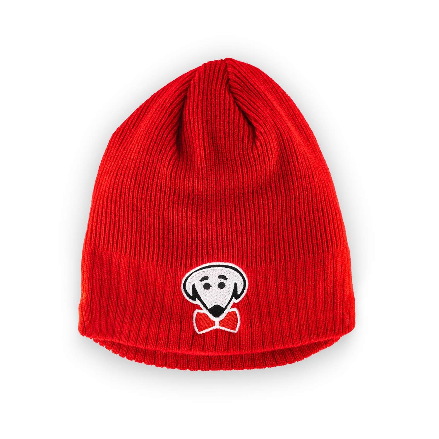 Taylor winter knit hat in red by Beau Tyler